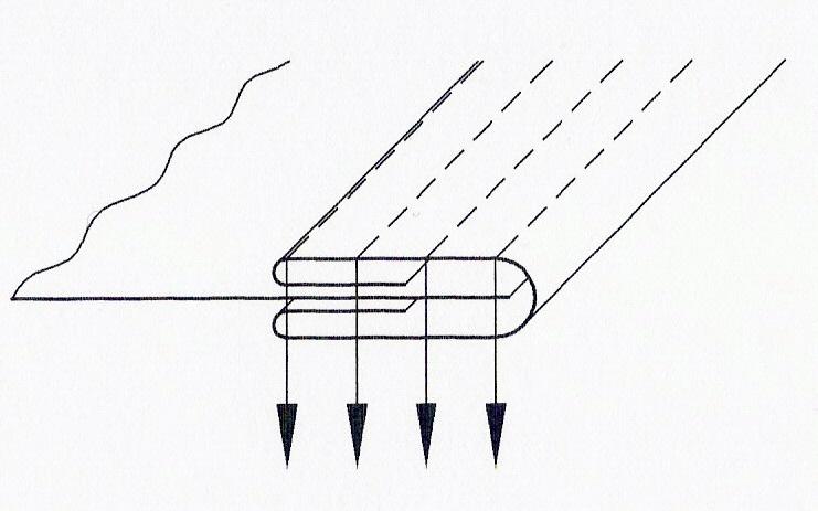 Aparelho de debrum multi-agulhas