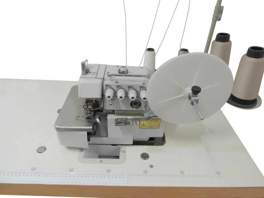 Suporte de etiqueta fixo na máquina modelo  Siruba